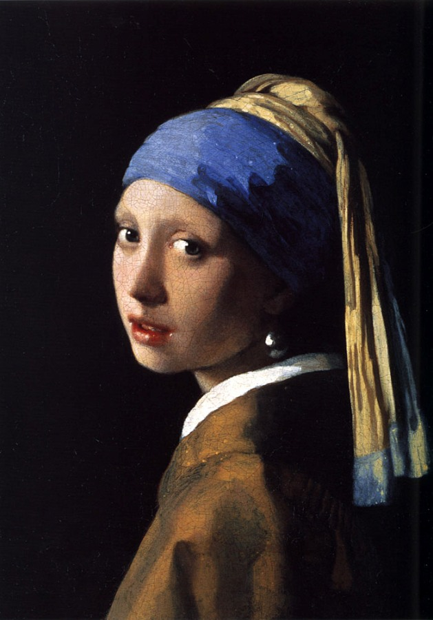 Girl with a Gague Earring