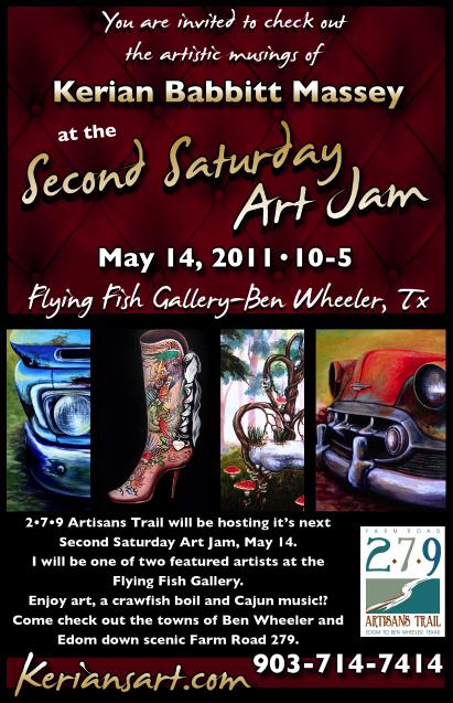 279 Second Saturday Art Jam