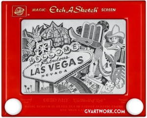 etch a sketch art