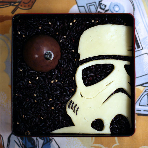 Storm Trooper bento box